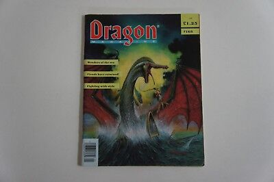 Bellissimo Dragon Magazine Issue 165 Aggiungere Tsr Wotc Advanced Dungeons And Dragons Ruolo-mostra Il Titolo Originale