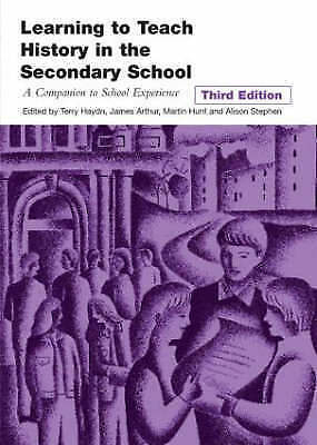 Learning to Teach History in the Secondary School: A Companion to-ExLibrary