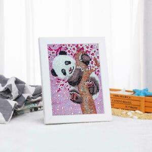DIY-Full-Drill-5D-Diamond-Painting-Embroidery-Panda-Home-15x20cm-Decor-O1U9
