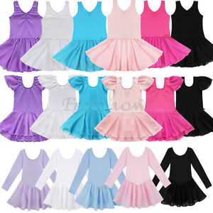 Baby-Girls-Gymnastics-Ballet-Dance-Wear-Kids-Ballet-Tutu-Dress-Leotard-Costumes