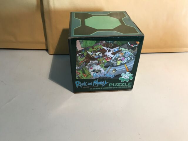 rick and morty 300 piece puzzle