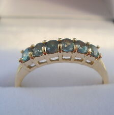 0.54ct Genuine Natural Alexandrite Gold Band Ring