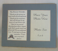 GRANDPA Encourage MEMORIES Joy Love GRANDFATHER God Blessed verses poems plaques
