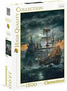 Clementoni-31682-Puzzle-High-Quality-Collection-The-Pirate-Ship-1500-P