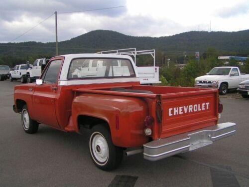73 76 Chevy Chrome Stepside Tail Light Bracket Set GMC Truck