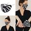 Indexbild 1 - Stoffmaske-Gesichtsmaske-Mundnasenmaske-Behelfsmaske-Maske-Zebra-Animalprint