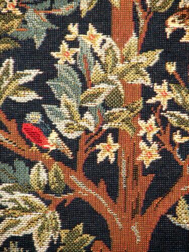 """Nouveau 18 /""""WM Morris arts /& crafts arbre de vie qualité Tapisserie Coussin Couverture 1085"""