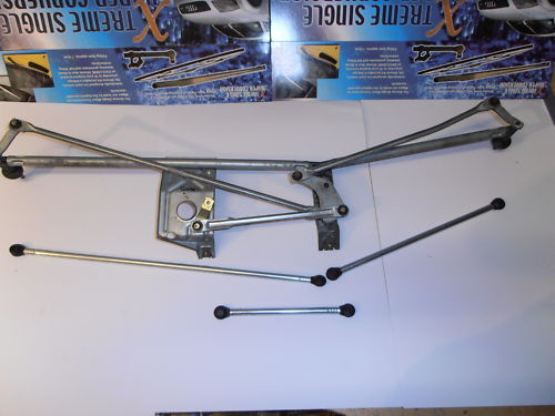 3 SET WIPER LINKAGE PUSH ROD Smart,City Coupe Pulse Fortwo Wipex Kit No43