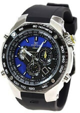 NEW Casio EFE500J-2A Edifice Resin Strap Tachymeter World Time Men's Watch