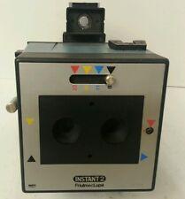Friulmec Lupa Instant 2 Lens ID Passport Camera w/ Polaroid Back ULTRA RARE FIND