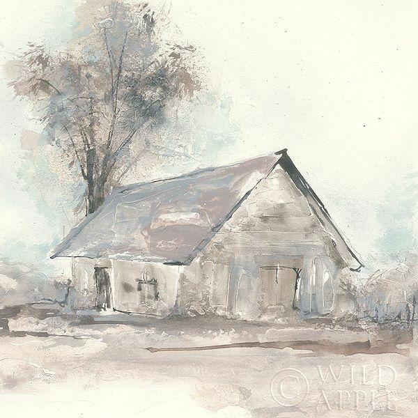 Chris Paschke  Barn III Keilrahmen-Bild Leinwand Bauernhof Scheune Hütte Shabby