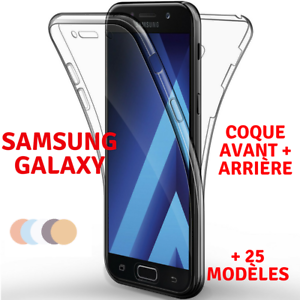 Coque-Full-TPU-Silicone-Avant-Arriere-Samsung-Galaxy-S9-S8-A3-A5-J3-J5-J7-Note