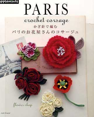 Paris Crochet Floral CORSAGE - Japanese Craft Book