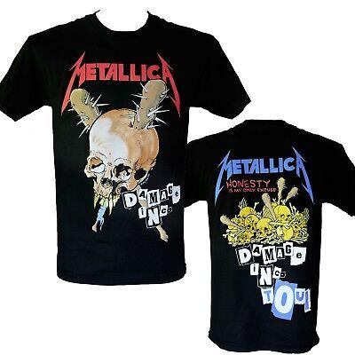 METALLICA - DAMAGE INC. TOUR - Official Licensed T-Shirt - New M L XL