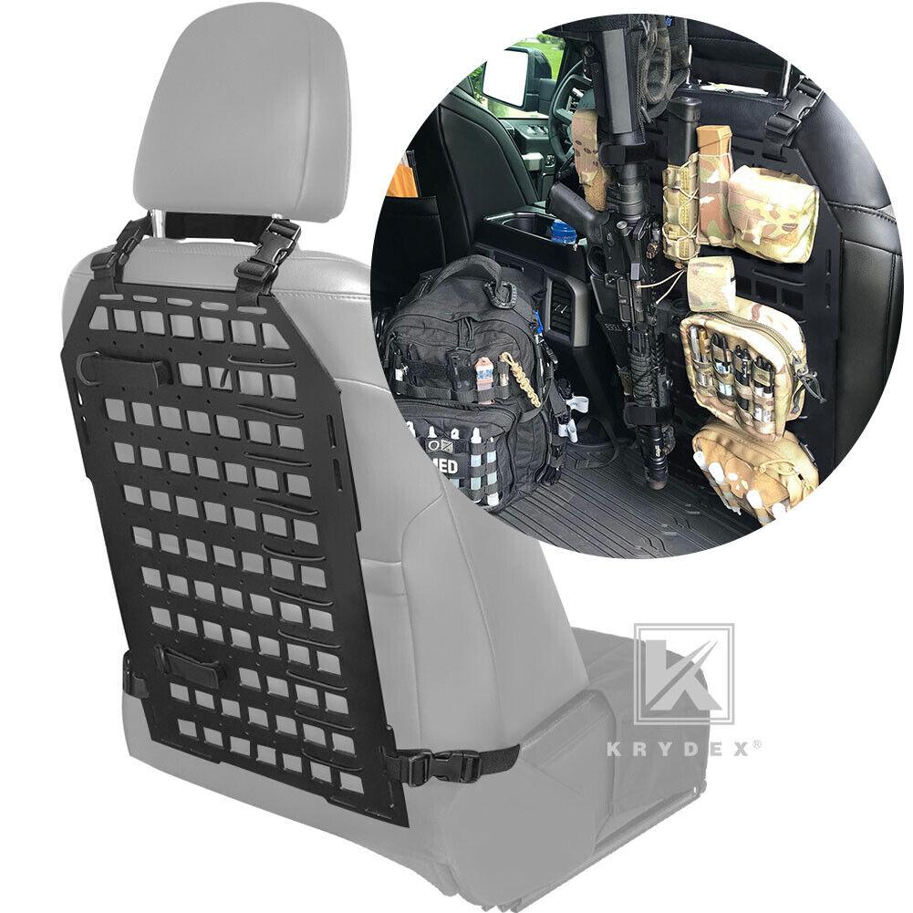 Image 1 - KRYDEX Tactical Car Rear Seat Organizer Rigid Panel Vehicle Back Seat 23 x 14 in