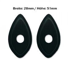 Adapter/Adapterplatten LED-Blinker/Miniblinker Honda, fairing mounting plates