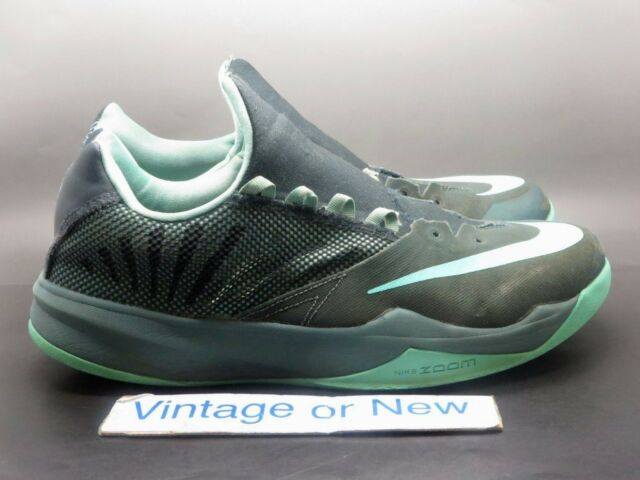 5f716eba0a69 Men s Nike Zoom The Run Seaweed Turquoise Basketball Shoes 653636-333 sz 10