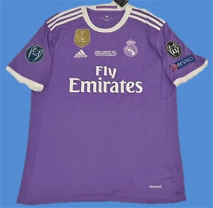 Real Madrid CRISTIANO RONALDO Jersey 2017 FINAL UCL NEW With TAGS ORIGINAL