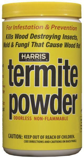 NEW HARRIS TERM-16 TERMITE POWDER PEST KILLER 16OZ FRESH CAN SALE 1303031