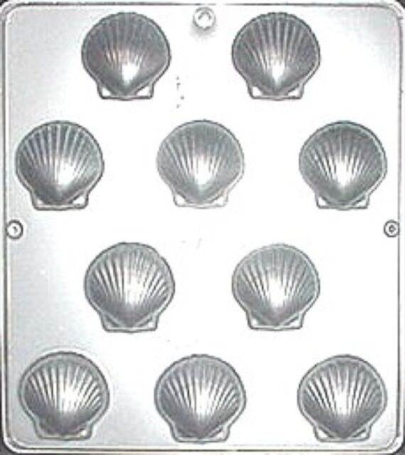 """Shell 1 3/4"""" Chocolate Candy Mold  166 NEW"""