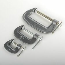 6pc C CLAMP MINI VISE SET WITH SWIVEL PADS