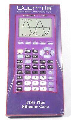 Rare Purple TI-83 Plus Graphing Calculator Texas Instruments TI83