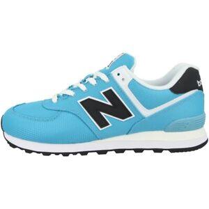New-Balance-ML-574-Sck-Shoes-Men-039-s-Casual-Sneakers-Wax-Blue-Black-ML574SCK