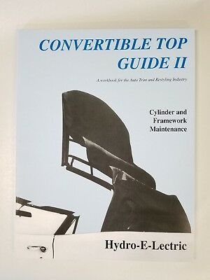 Convertible Top Installation Manual 1971-1976 Cadillac Eldorado Buick LeSabre
