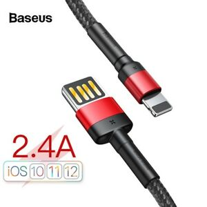 Lightning-USB-Cable-Fast-Charger-Data-Sync-2M-For-iPhone-XS-Max-XR-8-7-6s-Plus