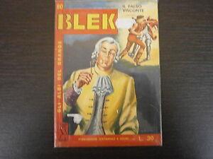 BLEK-LIBRETTO-n-60-ED-DARDO-ALBO-A-FUMETTI-ORIGINALE-1-EDIZIONE-NO-RISTAMPA