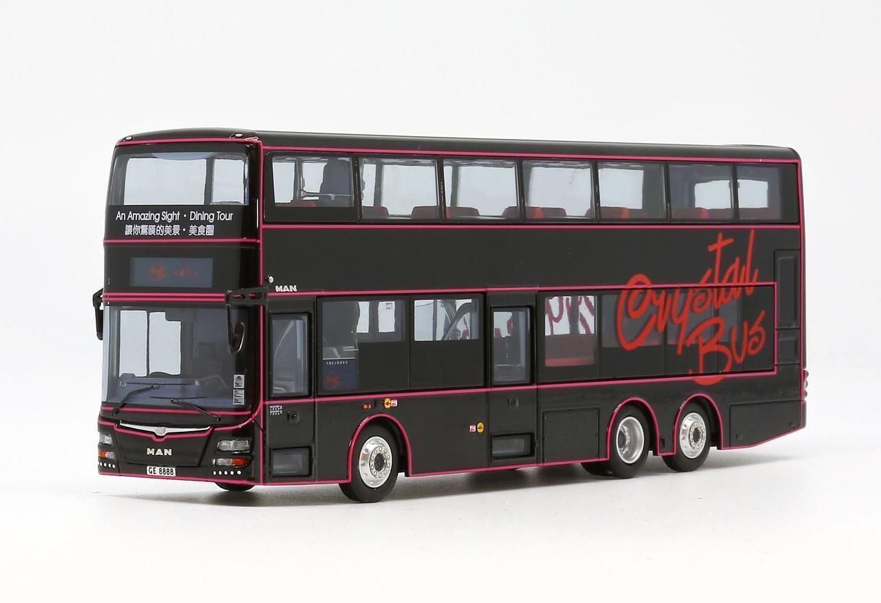 1 76 Crystal Bus MAN A95 12m - GE8888 Hong Kong
