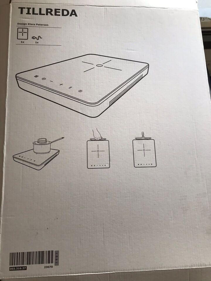 Induktionskogeplade, andet mærke Ikea. Tillreda