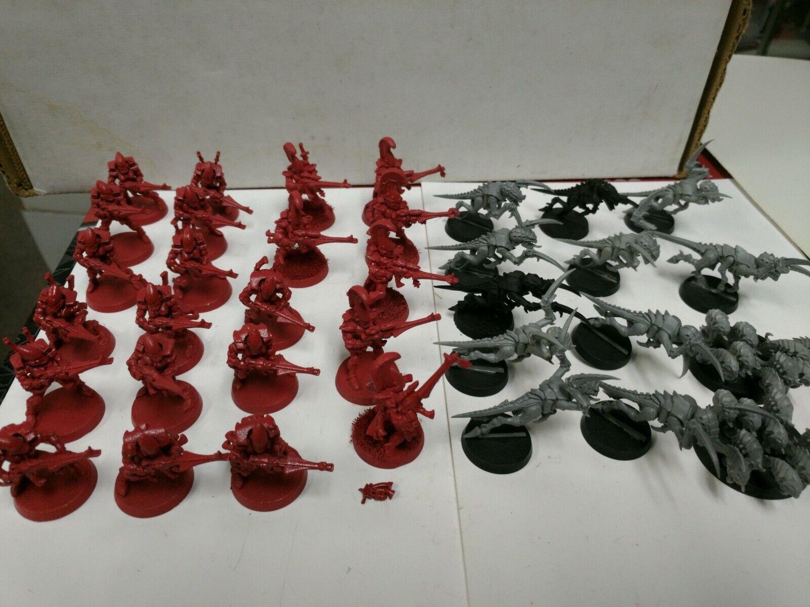 Warhammer 40k sarcófagos Eldar Guardian Reaper enjambre 34 Miniatura Figura Lote Plasti