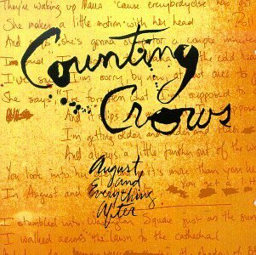1 of 1 - Counting Crows - August & Everything After [New CD]