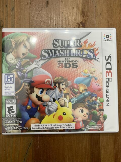 Super Smash Bros For Nintendo 3DS - New Sealed (Factory Sealed)