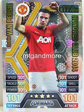 Match Attax 2016/17 Premier League - #463 Robin Van Persie 2014 - 100 Club