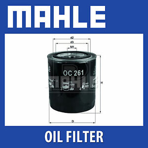 Mahle-Filtro-De-Aceite-OC261-Se-ajusta-Rover-Group-Genuine-Part