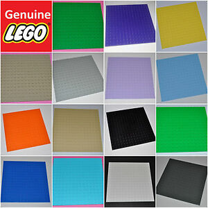 GENUINE-LEGO-PARTS-16x16-STUDS-BUILDING-PLATE-BASE-BOARD-BASEPLATE-MAT-91405