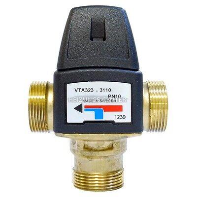 Brauchwassermischer ESBE VTA 323 | 22 mm Klemmfitting | Verbrühschutz 35 - 60 °C