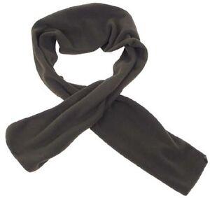 Fleece Outdoor Winter Schal 160x25 Cm Scarf Od Green Oliv Durchblutung GläTten Und Schmerzen Stoppen