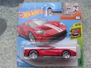 Hot-Wheels-2018-240-365-2017-Ford-Gt-Rojo-con-Raya-Blanca-Hw-Exotics