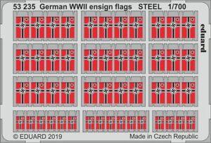 Eduard-Pe-53235-1-700-Allemand-2nd-Guerre-Mondiale-Ensigne-Drapeau-Acier