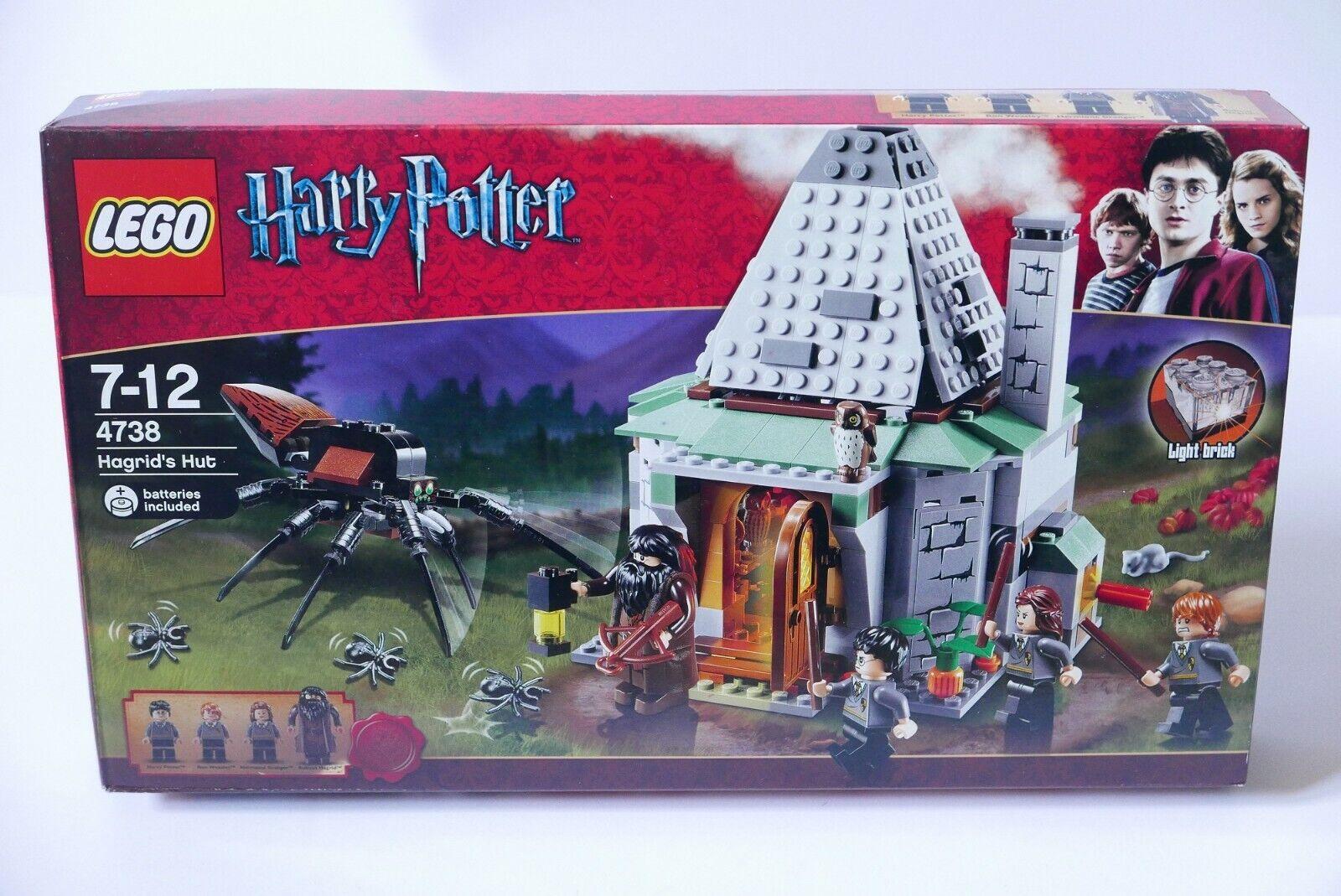 LEGO Harry Potter 4738 Hagrid's Hut (terza edizione) NUOVO RARE Sealed