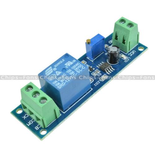 DC 12V//5V~12V Adjustable 0~10//0~60//0~150S NE555 Delay Timer Switch Module