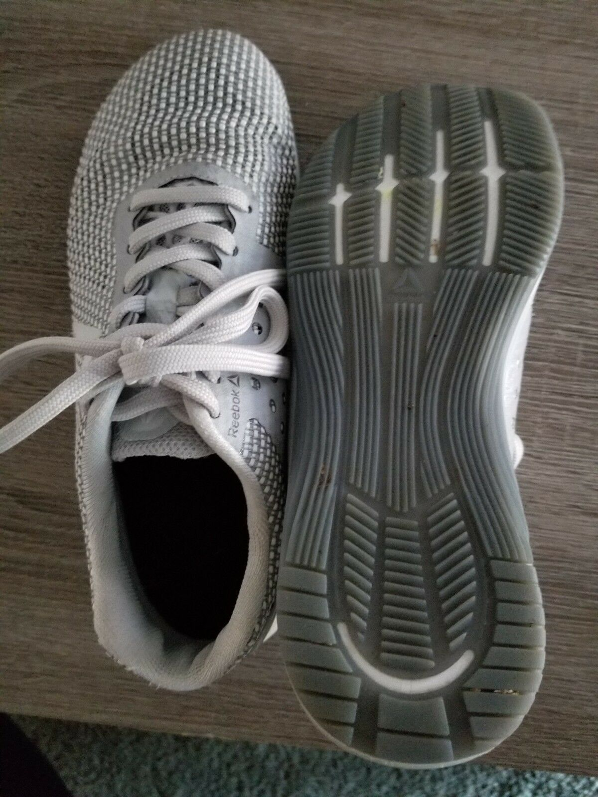 Reebok CrossFit Nano 8.0 Flexweave Women's 7 Grey Tennis shoes