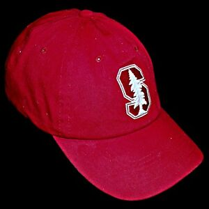 Details about Stanford University Palo Alto Tree Cardinal Red Adjustable  Strap Baseball Cap