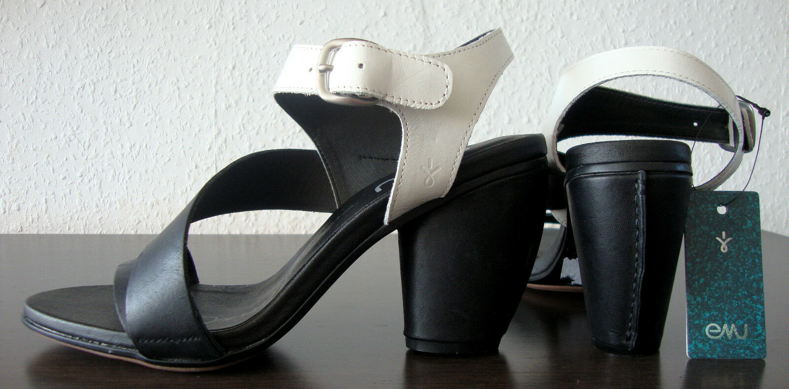 EMU Dawn sandals donna pelle Leather Scarpe Décolleté in pelle donna Sandali Sandali Tg. 39 NUOVO 09f7ae