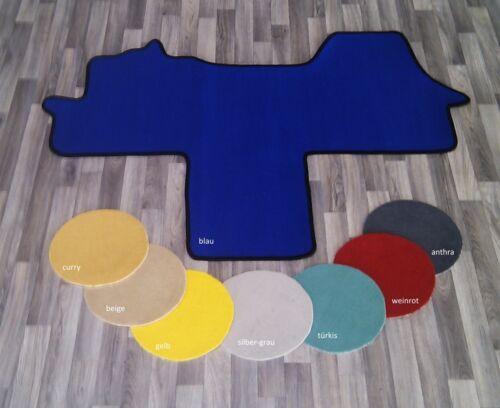 farbiger Autoteppich Fussmatte Fahrerhaus für Citroen Jumper I Typ 244 2-Sitzer