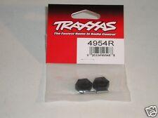 4954R Traxxas R/C Ferngesteuert Auto Ersatzteile Radnaben Hex Stahl Schwarz