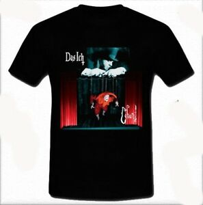 Das Ich German Lava electronic music group band T-shirt Tee Size S M L XL 2XL